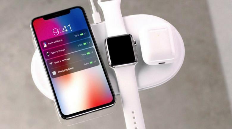 Беспроводная зарядная станция Apple AirPower и новый футляр для AirPods можно будет купить в следующем месяце