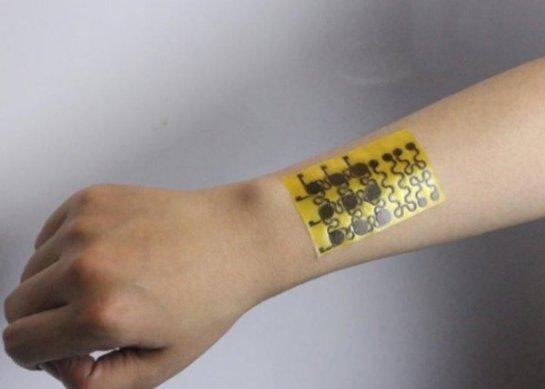 Ученые создали саморегенерирующуюся электронную кожу