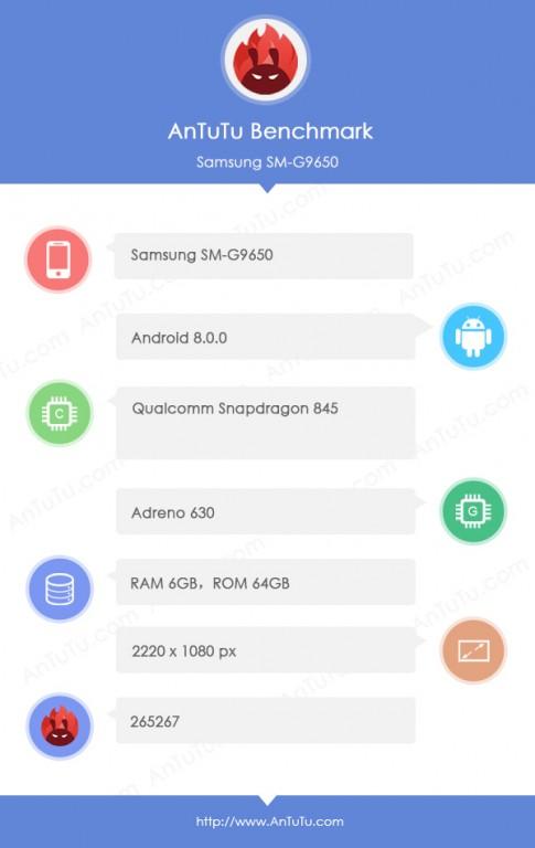 Устройство работает под управлением ОС Android 8.0 Oreo