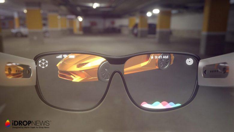 Дизайнеры представили, как могут выглядеть очки Apple Glasses