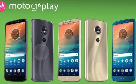 Опубликованы изображения и характеристики смартфонов Moto G6, G6 Plus и Moto G6 Play