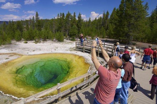 Ученые не нашли источника магмы в Йеллоустоуне