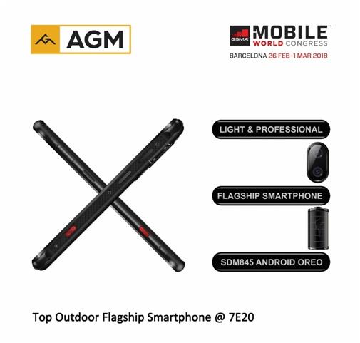 AGM анонсировала самый производительный в мире защищенный смартфон на базе SoC Snapdragon 845 - 1
