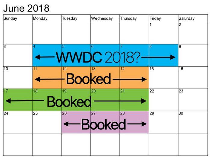 Конференция Apple WWDC 2018 пройдет 4-8 июня, на ней могут показать iOS 12, iPad X и iPhone SE 2