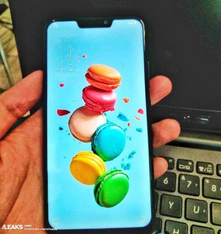 Появилось живое фото смартфона Asus Zenfone 5, который очень похож на iPhone X
