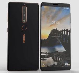 Видеоролик демонстрирует трехмерную модель смартфона Nokia 8 Sirocco
