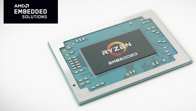 AMD представила CPU Epyc Embedded 3000 и APU Ryzen Embedded V1000