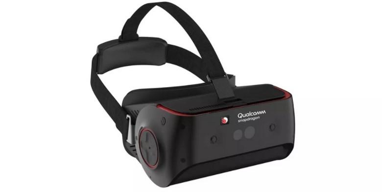 Qualcomm показала новую референсную гарнитуру VR