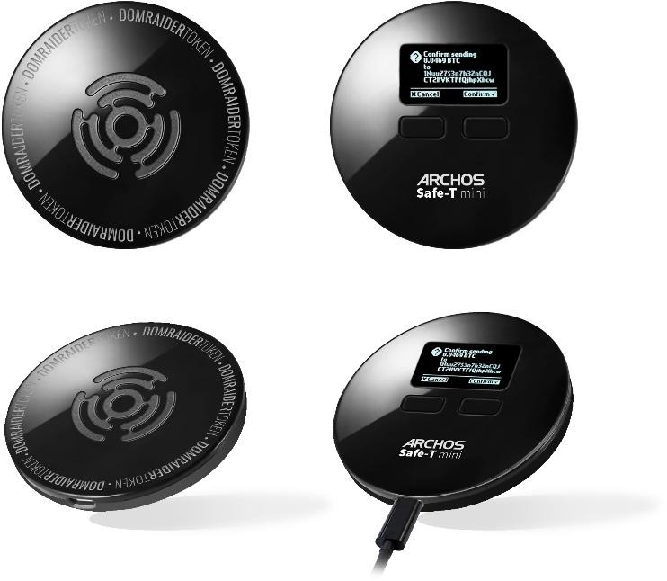 Устройство Archos Safe-T mini предназначено для хранения криптовалютных кошельков