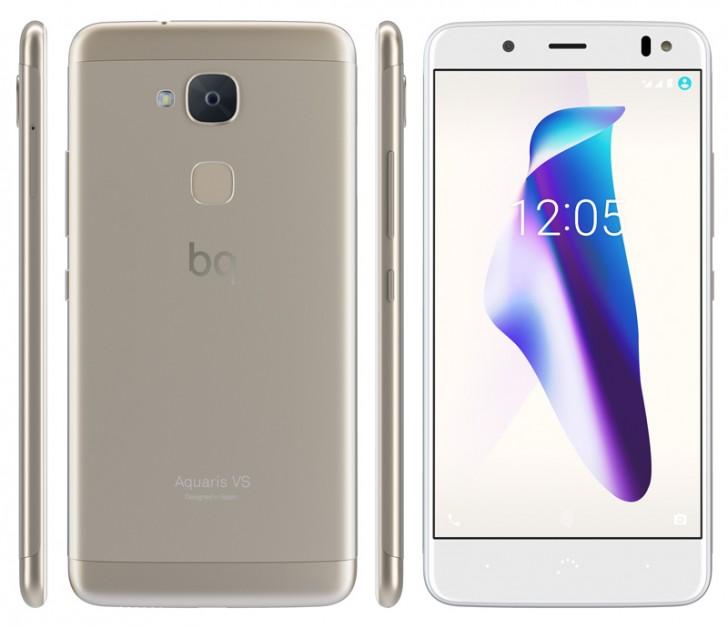 Представлены смартфоны BQ Aquaris VS и VS Plus