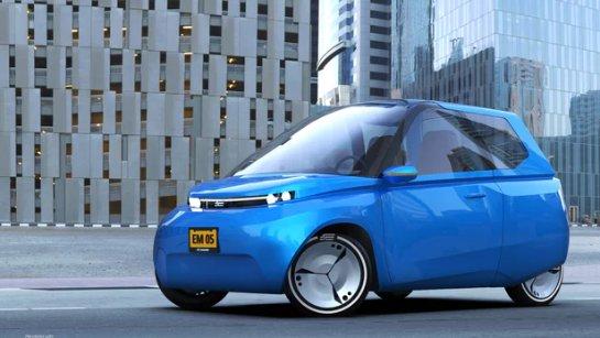 В Нидерландах говорят об электрическом концепте городской машины будущего