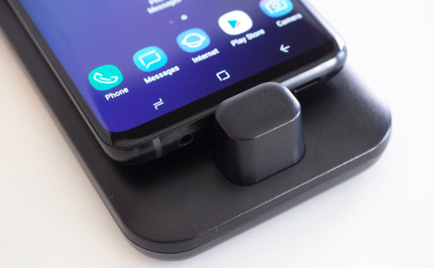 Демонстрация новой док-станции Samsung DeX Pad для Galaxy S9