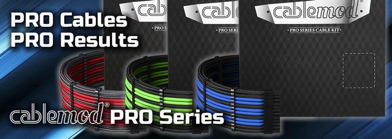 Продажа комплектов кабелей CableMod Pro уже началась