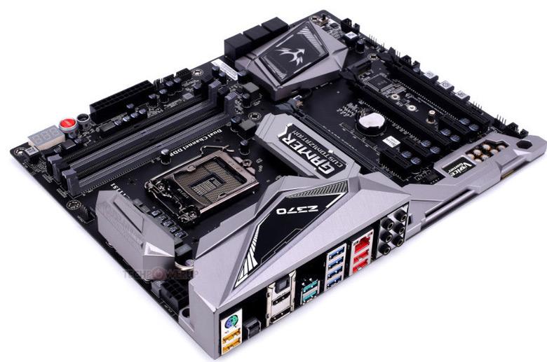 Сейчас Colorful выпускает только платы для процессоров Intel