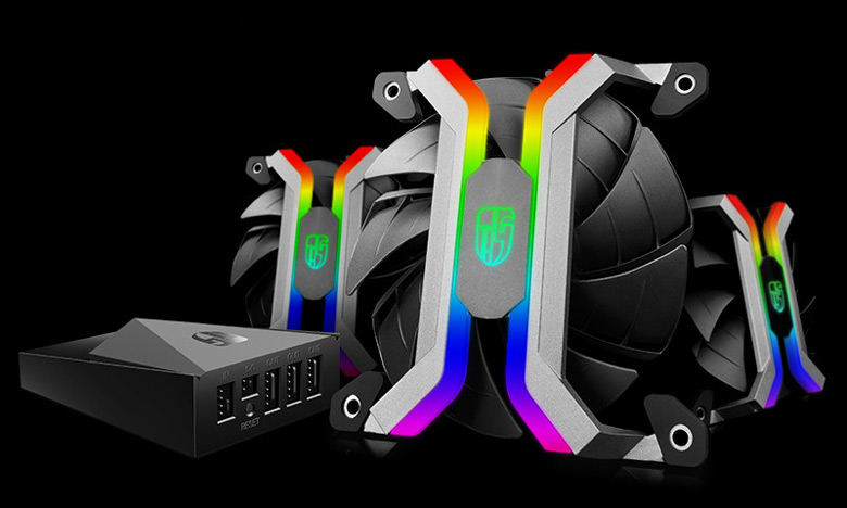 Вентиляторы Deepcool MF120 украшены подсветкой