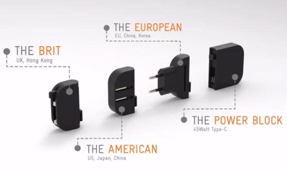 Mu One — универсальное зарядное устройство мощностью до 45 Вт для устройств с разъемами MicroUSB, USB-C и Lightning