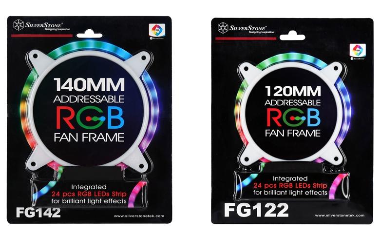 Каждая накладка включает 24 светодиода RGB