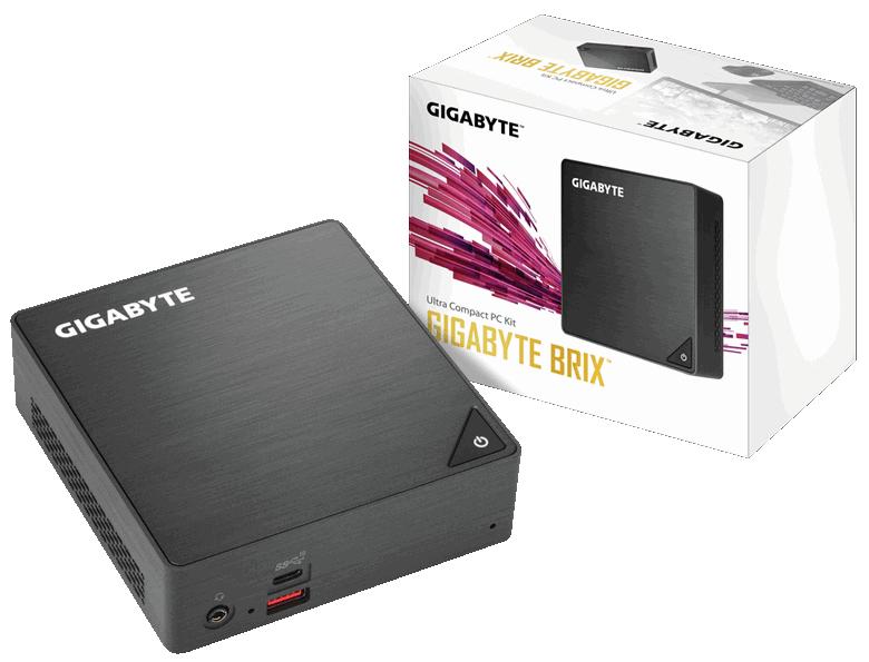 Gigabyte представила новые ПК Brix со свежими CPU Intel