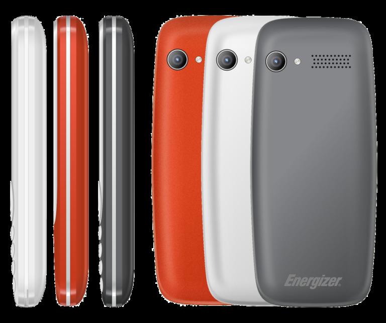 Energizer Energy E240S — первый мобильный телефон с фронтальной камерой и поддержкой VoLTE