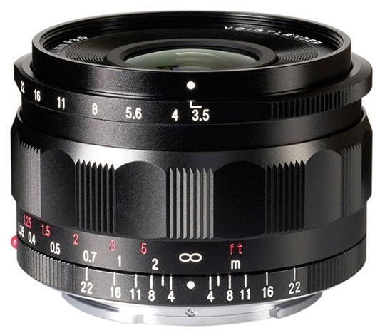 Полнокадровый объектив Voigtlander Color-Skopar 21mm f/3.5 Aspherical с креплением Sony E фокусируется вручную