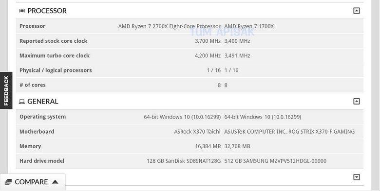 Процессор AMD Ryzen 7 2700X приятно удивит частотами
