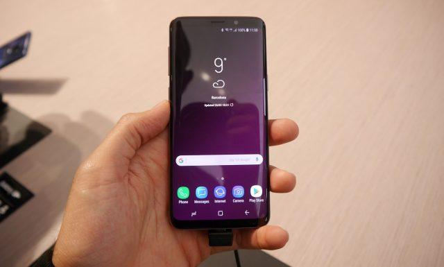 Смартфон Samsung Galaxy S9+ уже получил первую награду