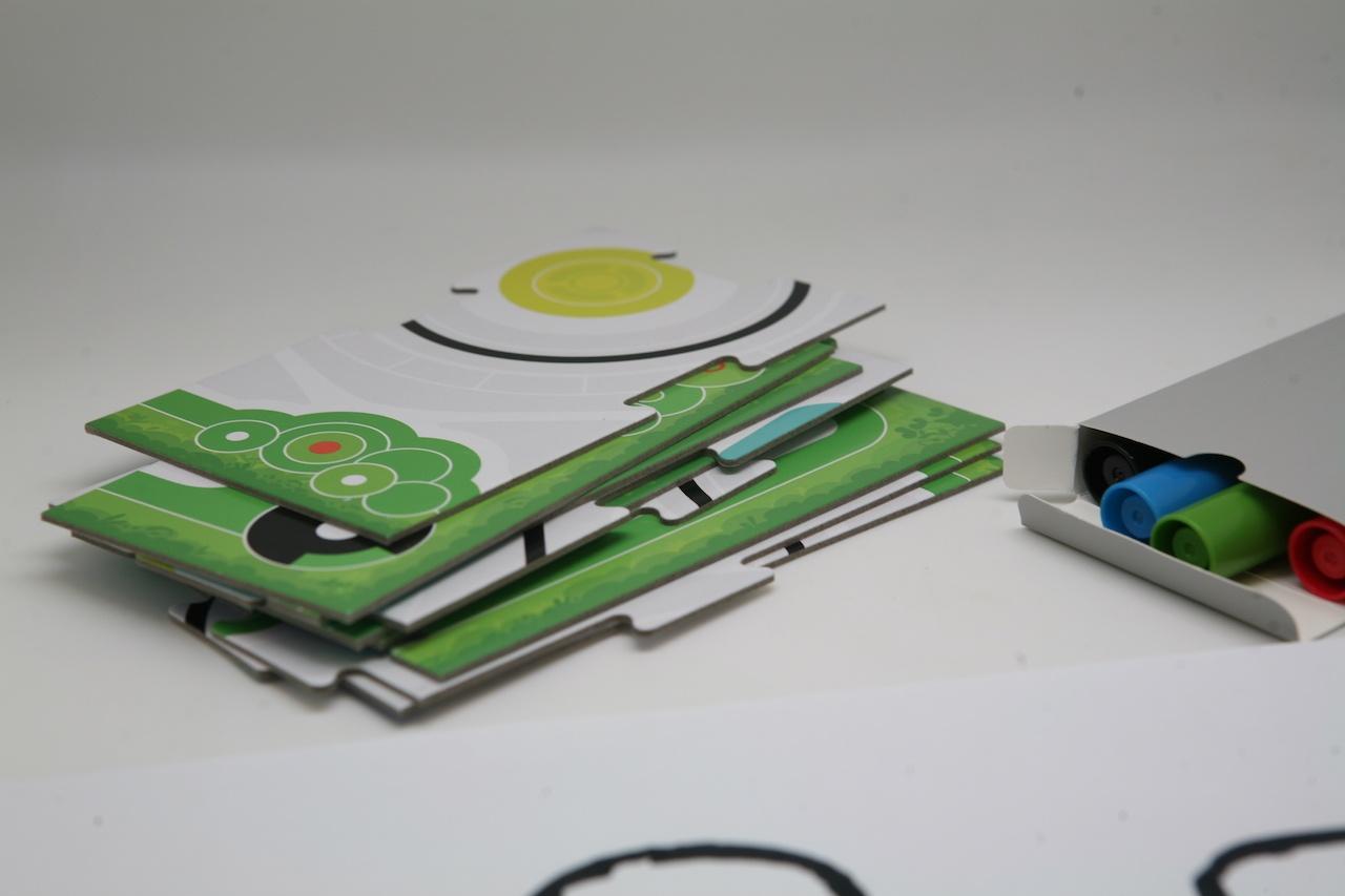 Ozobot — миниатюрный программируемый робот для игр и обучения, который ходит по нарисованным линиям - 41