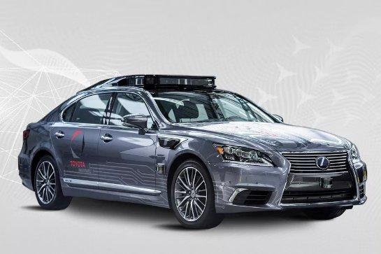 Toyota начинает компанию по разработке программного обеспечения для самостоятельного вождения