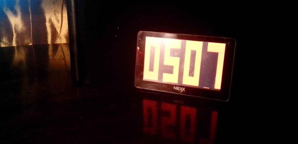 Как сделать часы из старого навигатора на Windows CE - 1
