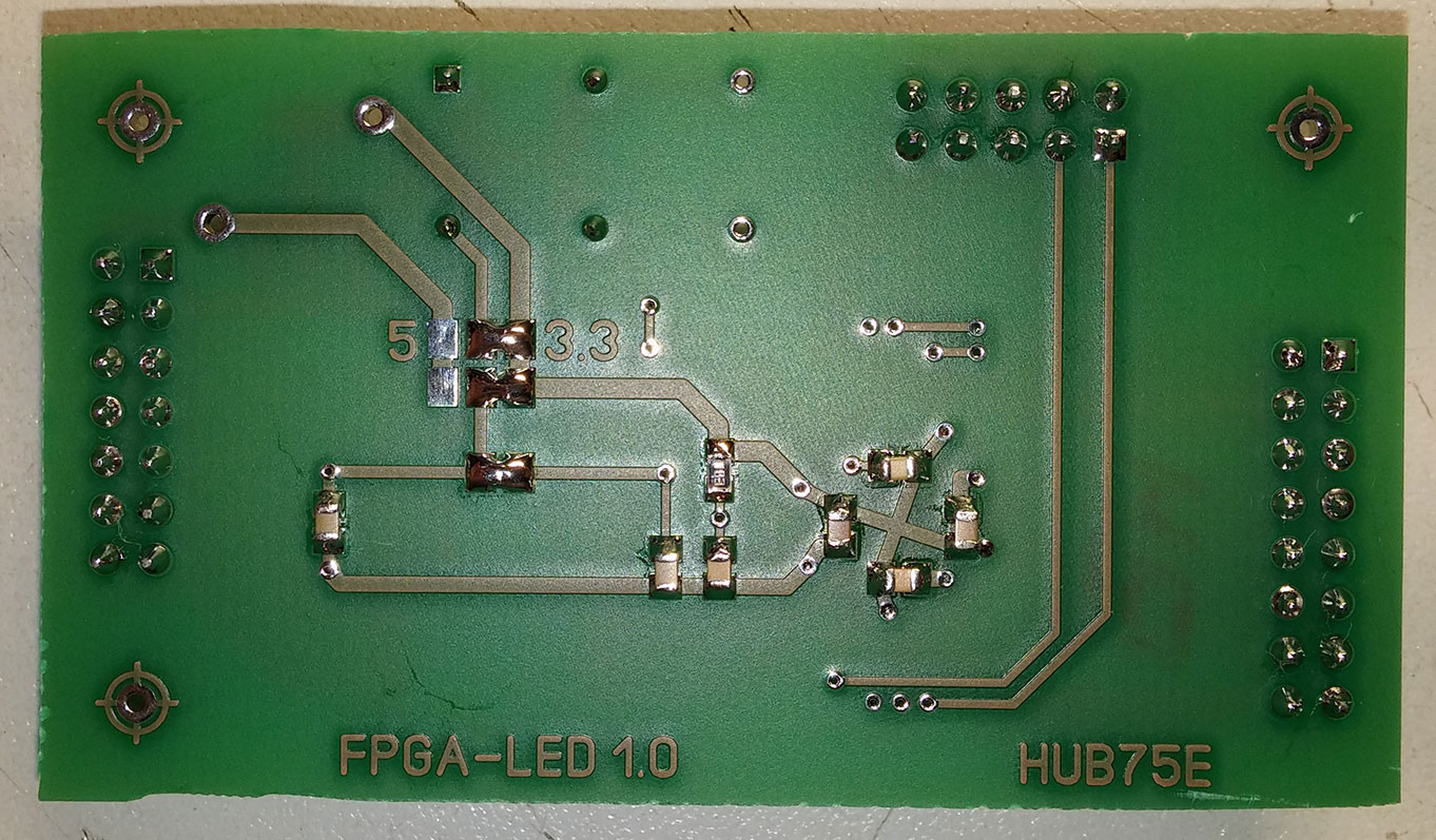 DIY-контроллер LED панели на CPLD с использованием BAM модуляции - 3