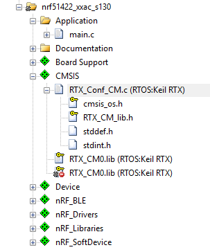 NRF51822: дружим BLE и RTOS - 3