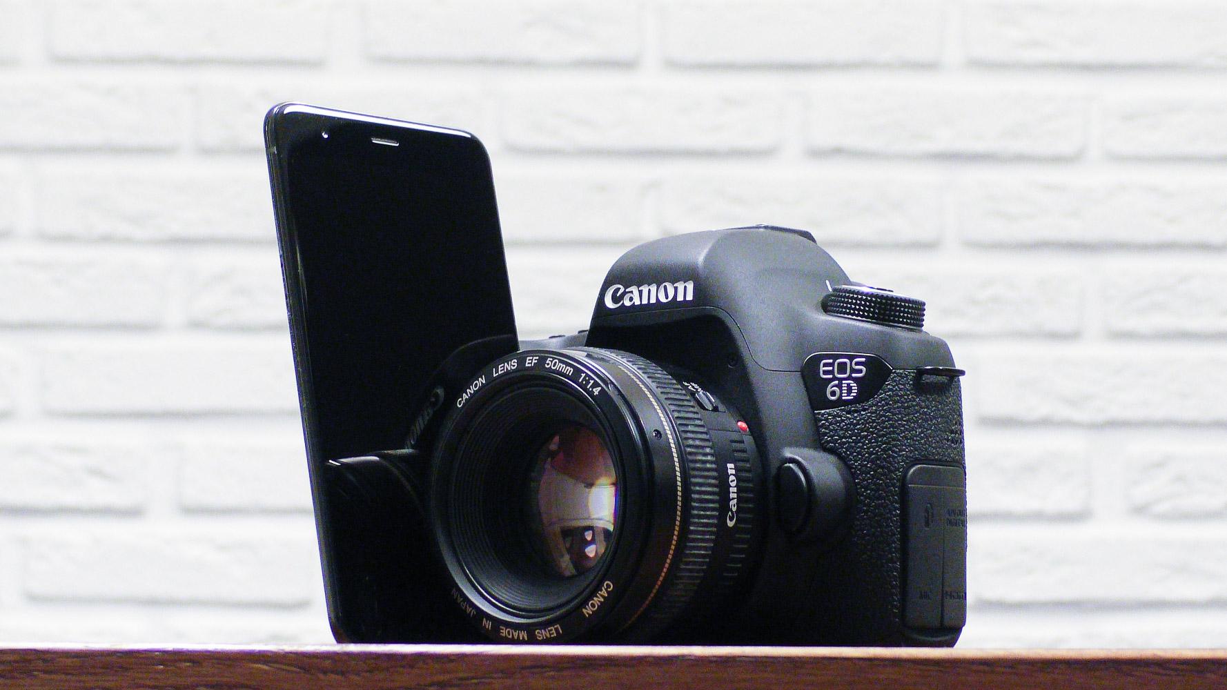 Честное сравнение камеры телефона и зеркального фотоаппарата - 1