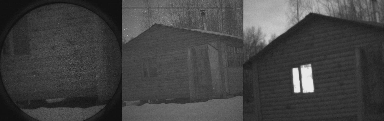 Как видят ночью разные камеры и приборы? - 7
