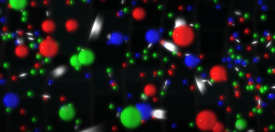 Спросите Итана: если вещество состоит из точечных частиц, почему у предметов есть размеры? - 5