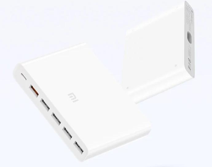 Xiaomi выпускает 60-ваттное зарядное устройство с шестью портами стоимостью $20