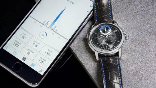 Механический и smartwatch дизайн объединяются в Frederique Constant Hybrid Manufacture