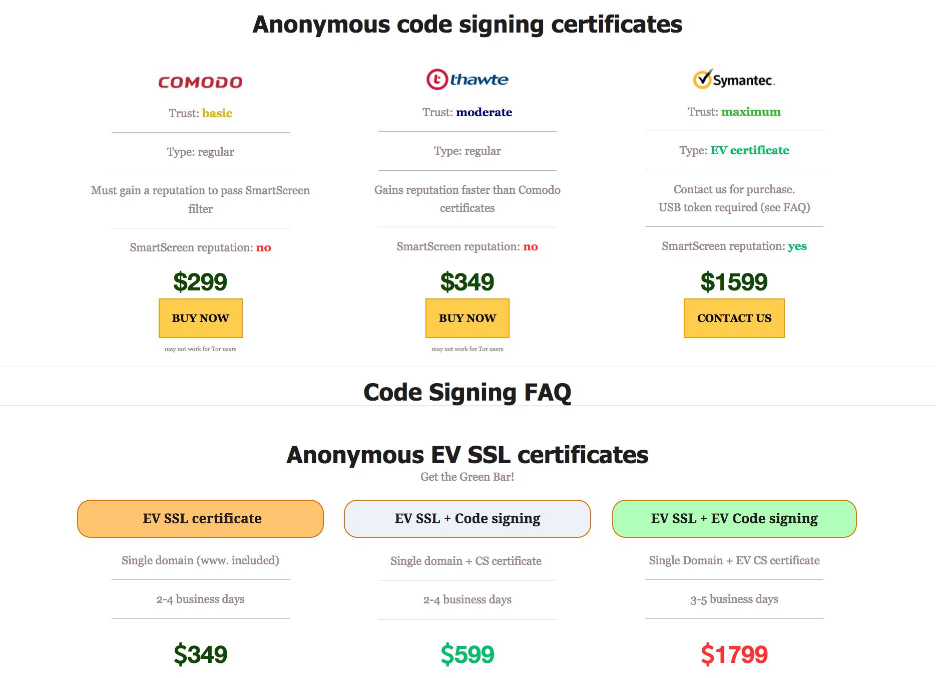 На чёрном рынке продают валидные сертификаты подписи исполняемого кода для обхода антивирусов - 5