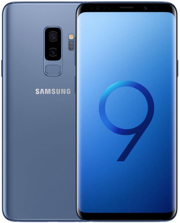 Пример полноэкранного смартфона — Samsung Galaxy S9+
