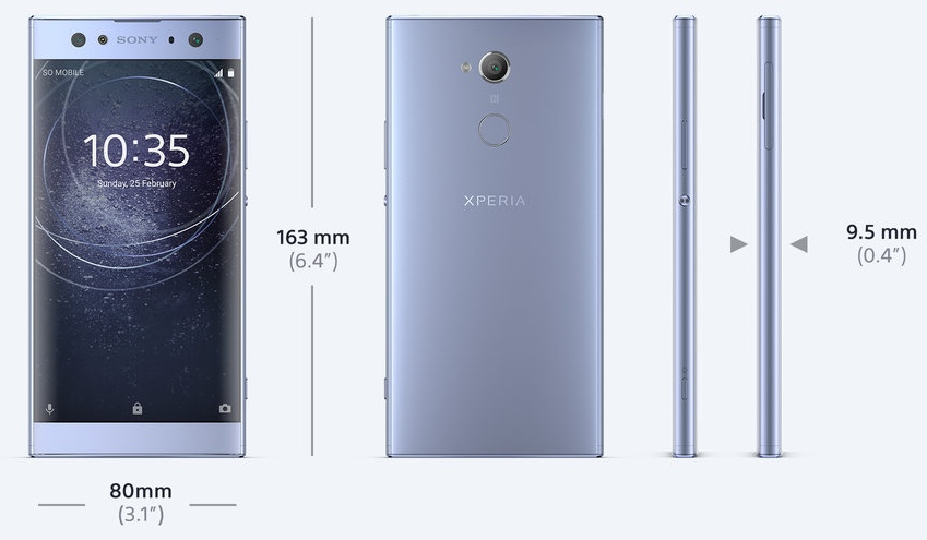 Обзор Sony Xperia XA2 Ultra - 10