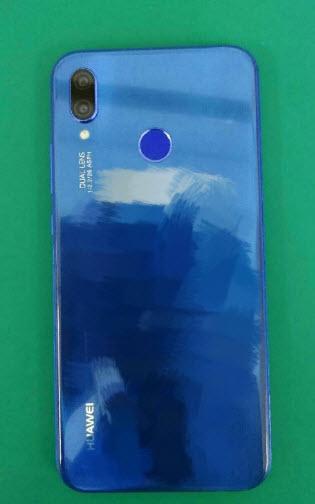 Опубликованы фотографии смартфона Huawei P20 Lite в синем цвете