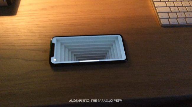 Разработчик создал приложение AR для iPhone X, которое интересные иллюзии
