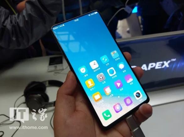 Vivo официально представила смартфон Apex