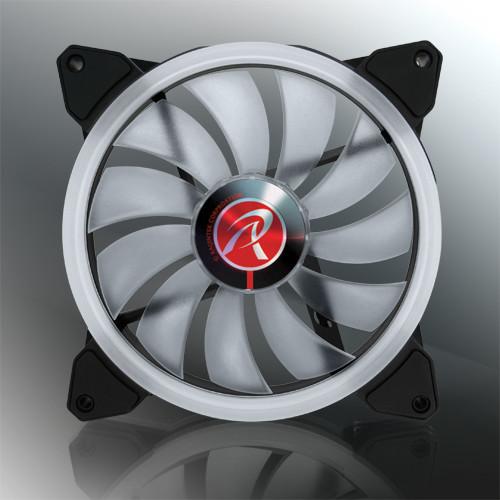 Каждый вентилятор Raijintek Iris 14 Rainbow RGB украшен 21 светодиодом