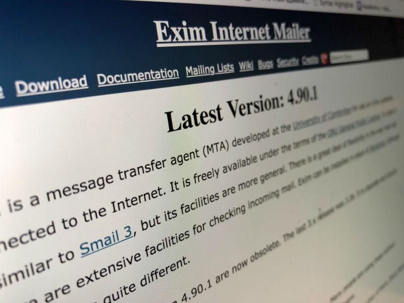 400 тысяч серверов могут быть подвержены RCE-атакам из-за уязвимости в почтовом агенте Exim - 1
