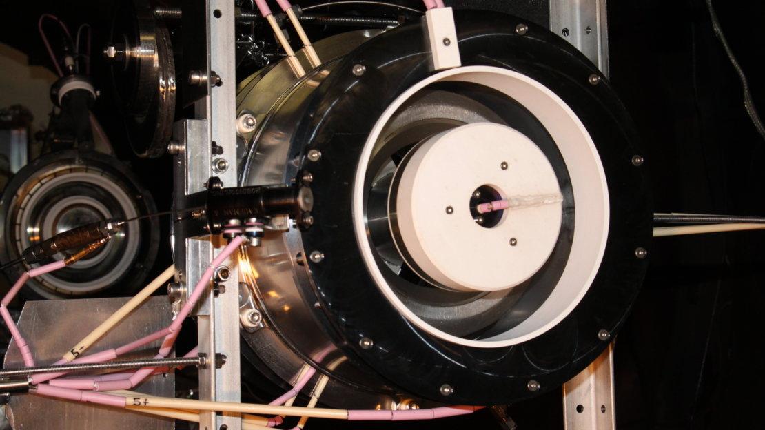 ESA провело испытания ионного двигателя, работающего на воздухе - 7