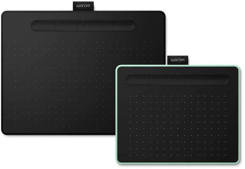 Обновлена серия графических планшетов Wacom Intuos