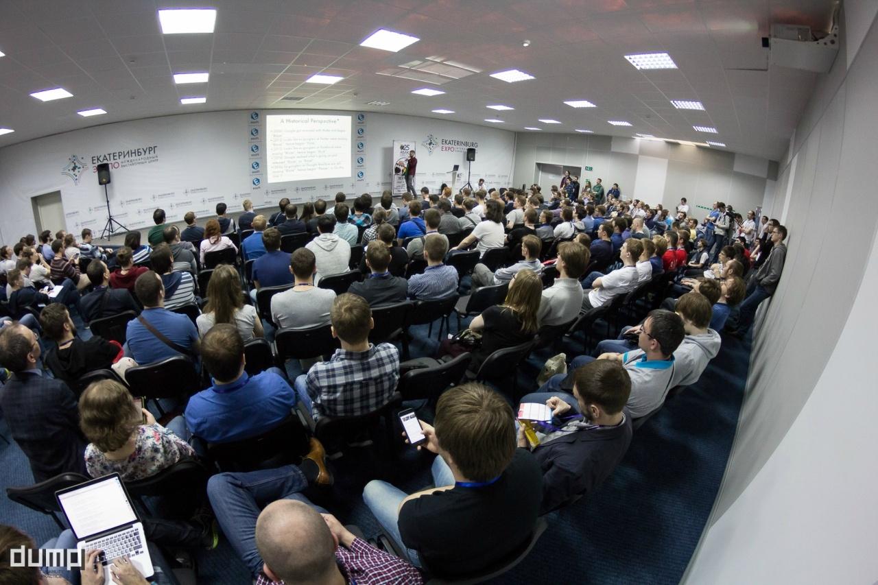Предварительная программа DUMP-2018 готова. Выступят докладчики из Microsoft, ВКонтакте, Rambler, Tinkoff, HTML Academy - 41
