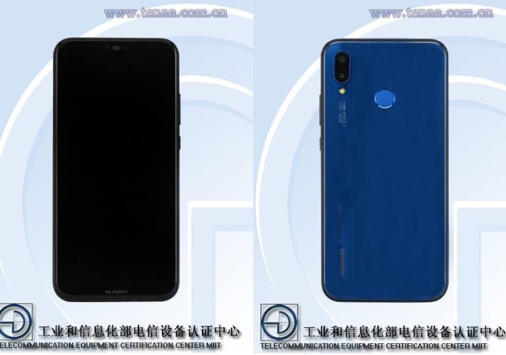 Смартфон Huawei P20 Lite попал в базу TENAA
