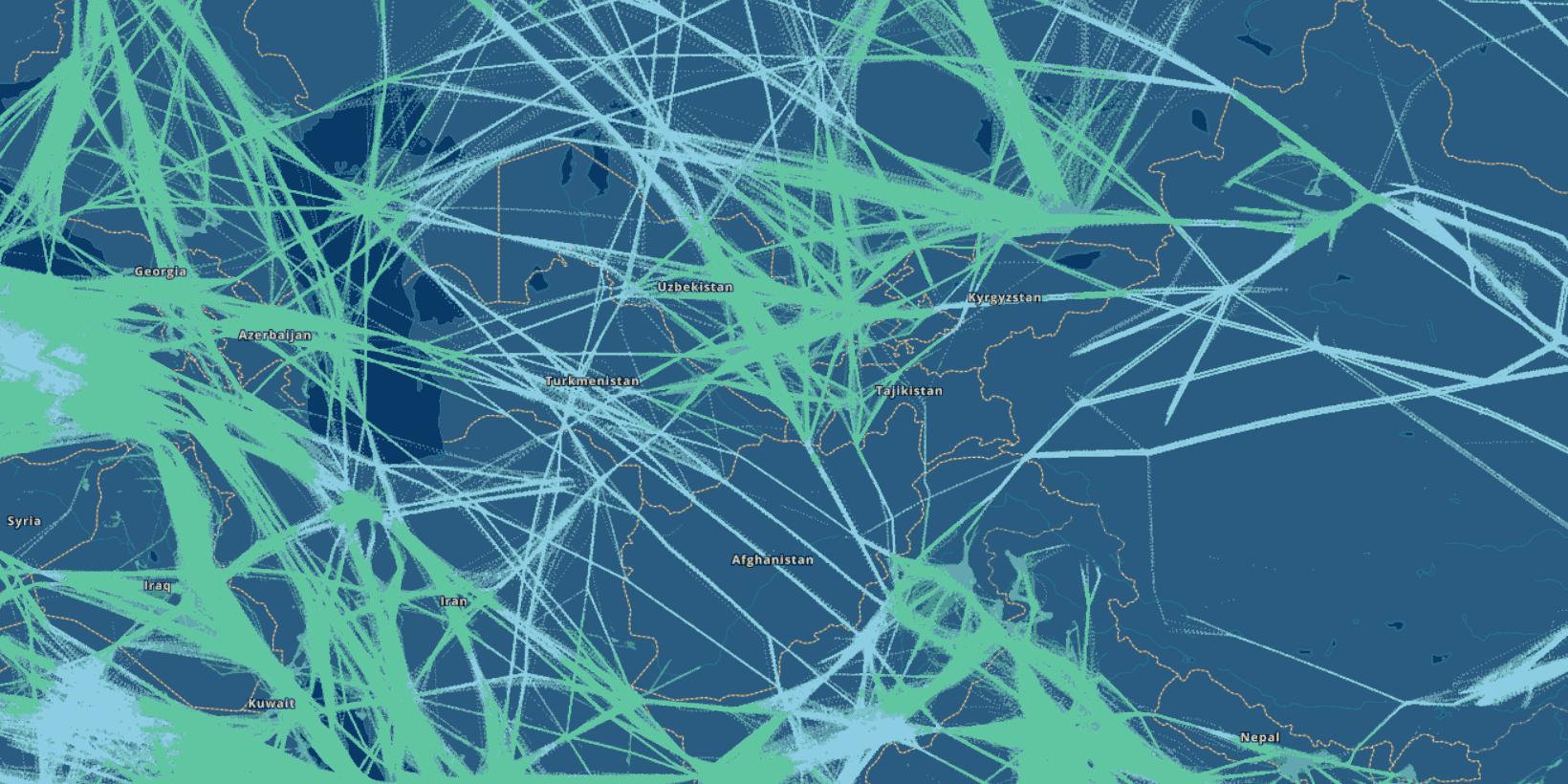 В 2018 году стало возможно непрерывно отслеживать самолеты в любой точке мира - 7