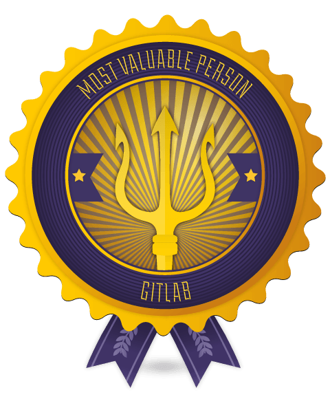 GitLab MVP badge